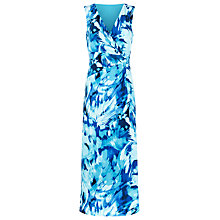 Buy Precis Petite Precious Colour Maxi Dress, Aqua Online at johnlewis.com