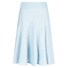 Buy Hobbs Carly Skirt, Barely Blue Online at johnlewis.com