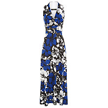 Buy Precis Petite Floral Maxi Dress, Multi Dark Online at johnlewis.com