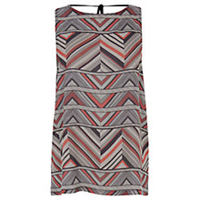 Buy Warehouse Stripe Tribal Vest, Multi Online at johnlewis.com