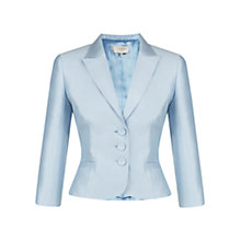 Buy Hobbs Crystal Jacket, Crystal Blue Online at johnlewis.com