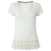 Buy White Stuff Florish Linen T-Shirt Online at johnlewis.com