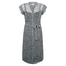 Buy Hobbs Darcy Dress, Ivory Ink Online at johnlewis.com