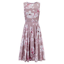 Buy Hobbs Magnolia Abigale Dress, Pale Pink Online at johnlewis.com