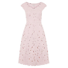 Buy Hobbs Liliana Dress, Light Pink Online at johnlewis.com