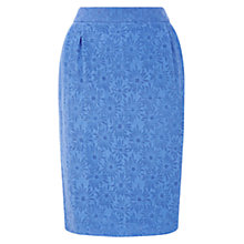 Buy Hobbs Farrah Skirt, Cornflower Blue Online at johnlewis.com