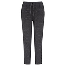 Buy Mint Velvet Lace Joggers, Green Online at johnlewis.com