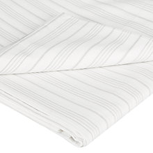 Buy Christy Clerkenwell 200 Thread Count Cotton Percale Flat Sheet, Cream Online at johnlewis.com