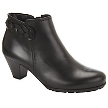 Buy Gabor Portobello Block Heel Ankle Boots Online at johnlewis.com