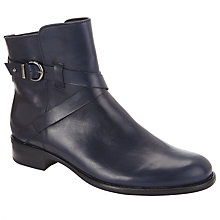 Buy Gabor Nightgale Leather Buckle Strap Ankle Boots Online at johnlewis.com