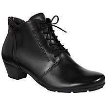 Buy Gabor Mega Lace Up Ankle Boots Online at johnlewis.com