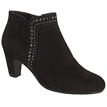 Buy Gabor Provide Suede Studded Ankle Boots Online at johnlewis.com