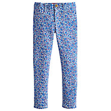 Buy Little Joule Girls' Ditsy Print Trousers, Multi Online at johnlewis.com