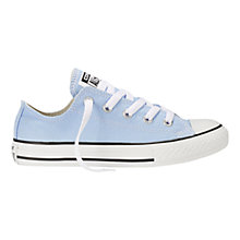 Buy Converse CTAS Low Top Seasonal Trainers, Sky Blue Online at johnlewis.com