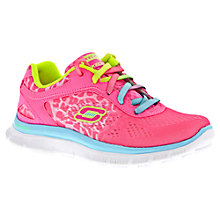 Buy Skechers Skech Appeal Serengeti Shoes, Pink/Multi Online at johnlewis.com