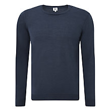 Buy Kin by John Lewis Made in Italy Merino Blend Button Neck Jumper Online at johnlewis.com