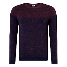 Buy Kin by John Lewis Ombre Jacquard Merino Wool Jumper, Wine Online at johnlewis.com
