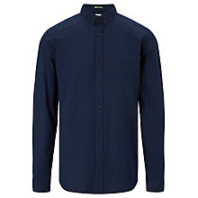 Buy Kin by John Lewis Geo Dobby Shirt, Indigo Online at johnlewis.com