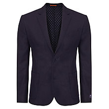 Buy JOHN LEWIS & Co. Printed Abraham Moon Wool Blazer, Dark Navy Online at johnlewis.com