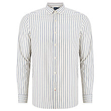 Buy JOHN LEWIS & Co. Vintage Stripe Penny Collar Shirt, Natural Online at johnlewis.com
