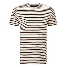 Buy JOHN LEWIS & Co. Slub Stripe Crew Neck T-Shirt Online at johnlewis.com