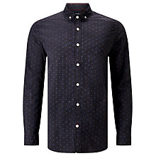 Buy JOHN LEWIS & Co. Melange Fil Coupe Shirt Online at johnlewis.com
