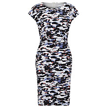 Buy John Lewis Capsule Collection Skala Print Jersey Dress, Blue Online at johnlewis.com