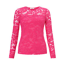 Buy Somerset by Alice Temperley Lace Stretch Top Online at johnlewis.com