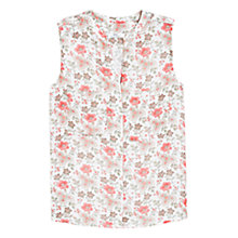Buy Mango Pocket Printed Blouse, Red Multi Online at johnlewis.com