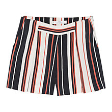 Buy Mango Flowy Striped Shorts, Multi Online at johnlewis.com