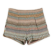 Buy Mango Pattern Shorts, Multi Online at johnlewis.com