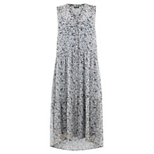 Buy Mint Velvet Celia Print Button Through Maxi Dress, Multi Online at johnlewis.com