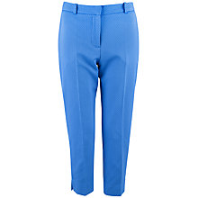 Buy Almari Spot Quilted Trouser, Blue Online at johnlewis.com