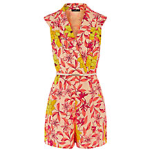 Buy Oasis Honey Flower Playsuit, Multi Online at johnlewis.com