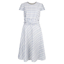 Buy Hobbs Madison Dress, Windmill Blue Online at johnlewis.com