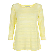 Buy Hobbs Savina Jumper, Lemon Online at johnlewis.com