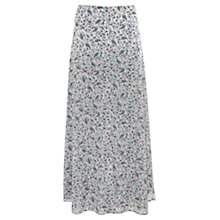 Buy Mint Velvet Celia Print Maxi Skirt, Multi Online at johnlewis.com