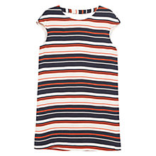 Buy Mango Striped Dress, Orange Online at johnlewis.com