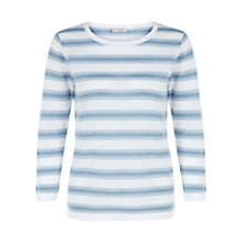Buy Hobbs Ciara Jumper, Blue Online at johnlewis.com