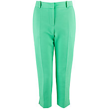 Buy Almari Spot Quilted Trouser, Green Online at johnlewis.com