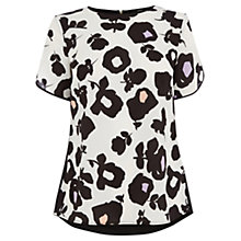 Buy Oasis Bold Shadow T-Shirt, Multi Online at johnlewis.com