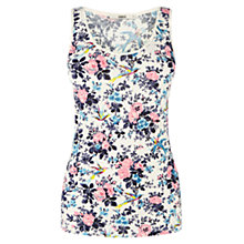 Buy Oasis Bird Rose Print Vest, Multi Online at johnlewis.com