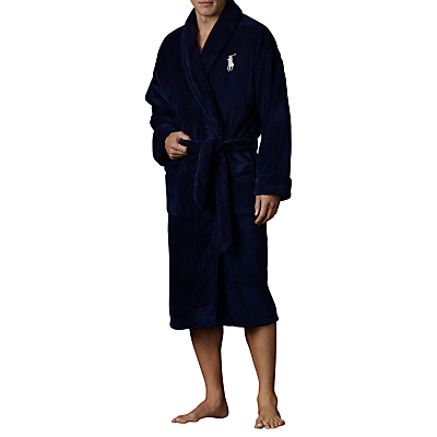 Polo Ralph Lauren Shawl Collar Robe, Navy