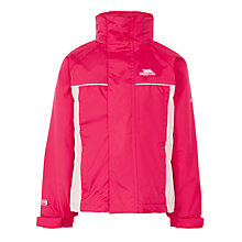 Buy Trespass Girls' Two Tone Rain Jacket, Pink Online at johnlewis.com