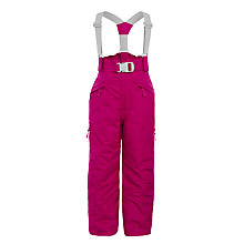 Buy Trespass Girls' Padded Micro Fibre Ski Trousers, Pink Online at johnlewis.com