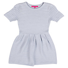 Buy Derhy Kids Girls' Stripe Day Dress, Grey Online at johnlewis.com