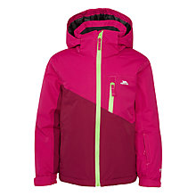 Buy Trespass Girls' Ski Jacket, Pink Online at johnlewis.com