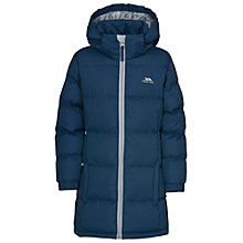 Buy Trespass Girls' Padded Bubble Jacket, Navy Online at johnlewis.com