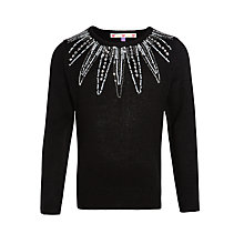 Buy John Lewis Girls' Sequin Embellished Jumper Online at johnlewis.com