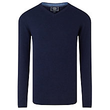 Buy John Lewis Italian Merino Cashmere V-Neck Jumper Online at johnlewis.com